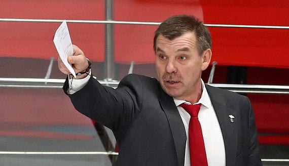 Олег Знарок вернулся на пост главного тренера сборной России по хоккею