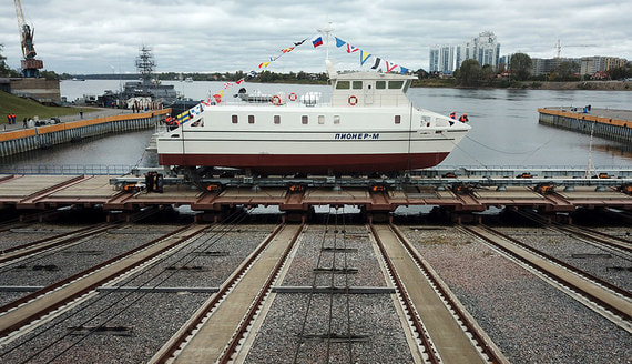 В России спустили на воду первый морской беспилотник