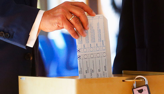 ЦИК Германии объявил о распределении мест в бундестаге