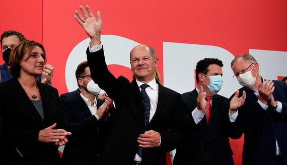 В Германии объявили предварительные итоги парламентских выборов