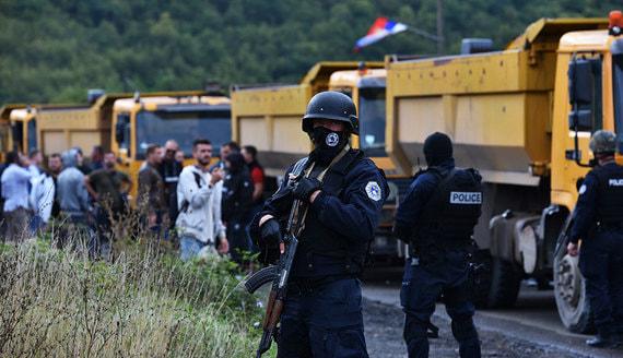 Сербия призвала НАТО отреагировать на ситуацию с сербами в Косово