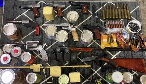 ФСБ раскрыла 29 подпольных оружейных мастерских