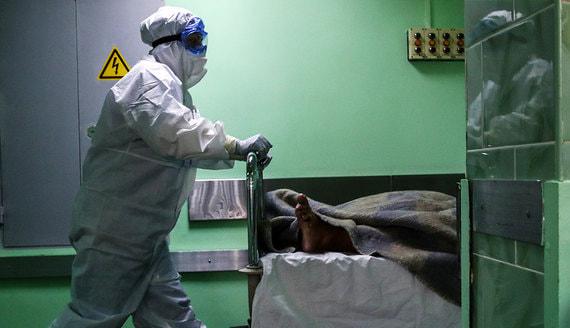 Число умерших от COVID-19 за сутки в России установило новый рекорд