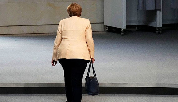 Песков оценил вероятность проведения нормандского саммита до ухода Меркель