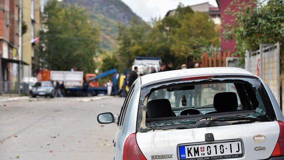 Спецназ Косова обстрелял протестующих сербов