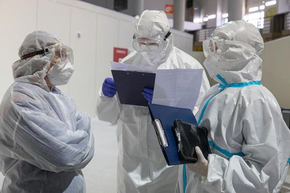 В России за сутки выявили 24 092 новых случая коронавируса