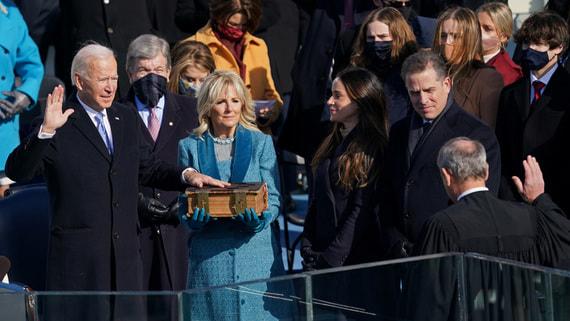 Байден вступил в должность президента США